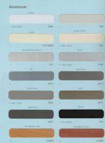 Sunshade Integral Blind Colours
