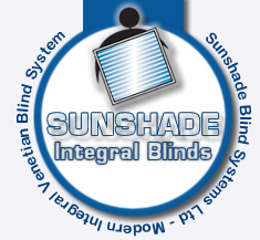 Cordless Integral Blinds - Sunshade Blind Systems